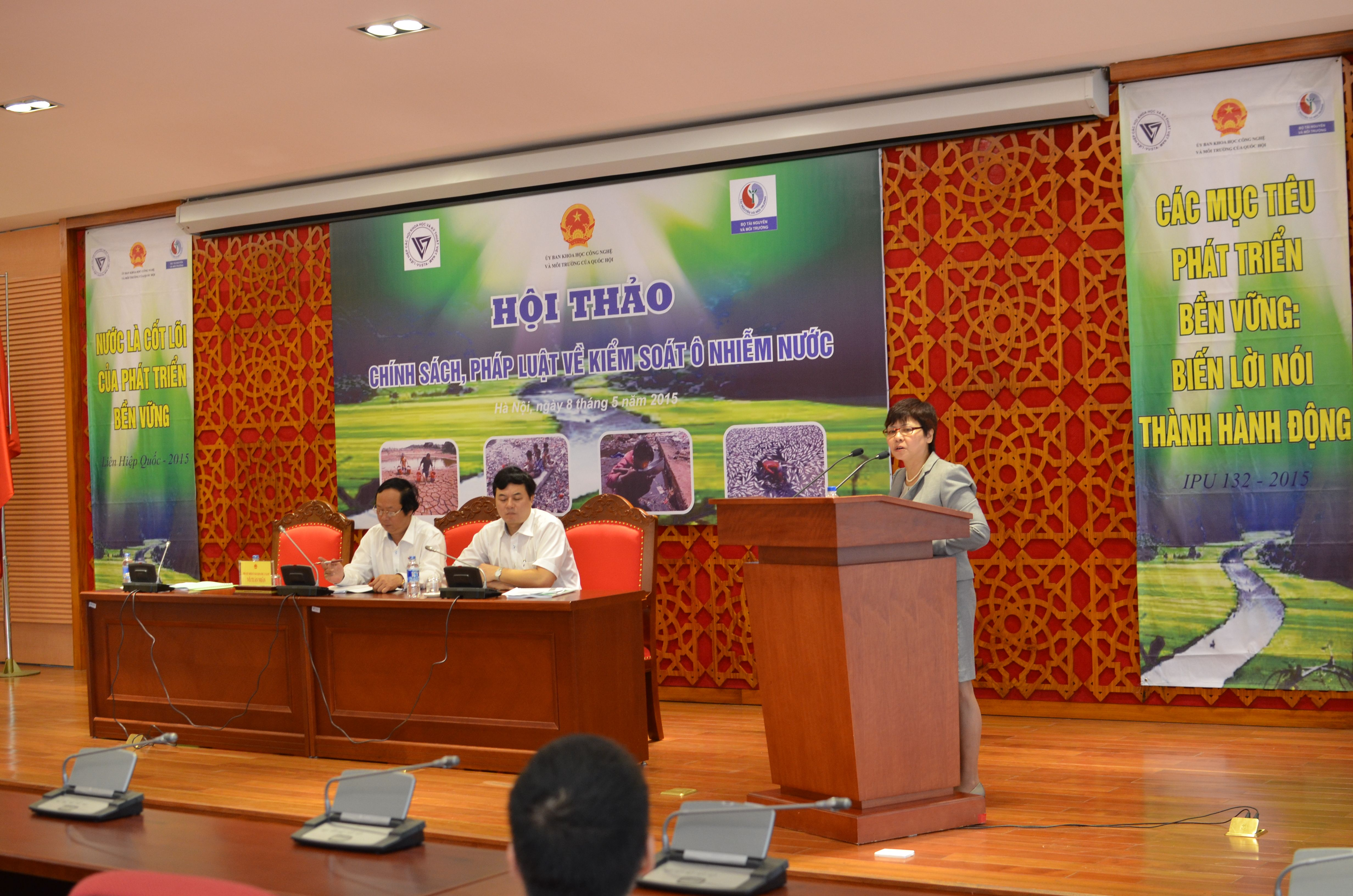 "Seminar on ""Policy and legislation on water pollution control"""