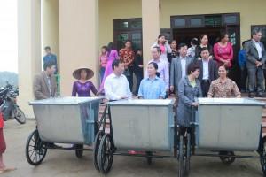 Khac Niem (Bac Ninh): Supporting Water Day 2017