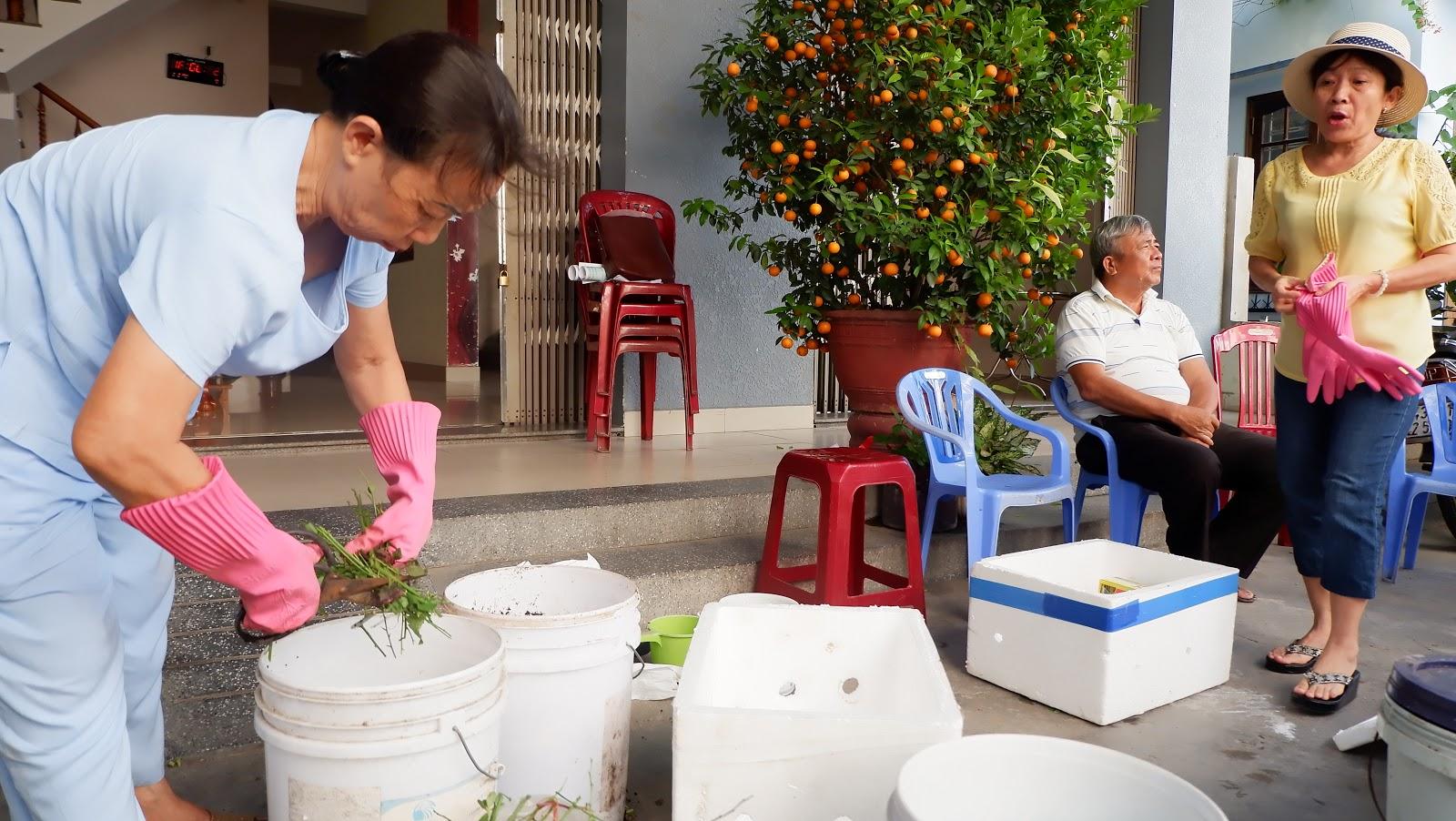 Thực hiện mô hình giảm thiểu, phân loại, tái chế rác thải tại Thuận An 4