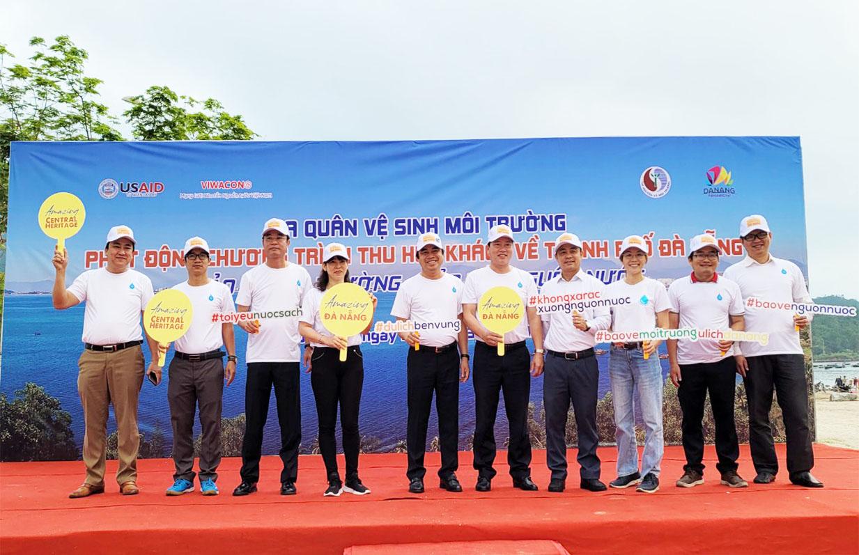 Lễ Ra quân vệ sinh môi trường phát động chương trình Bảo vệ Môi trường – Bảo tồn Nguồn Nước – Thành phố Đà Nẵng